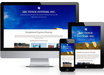 ABC Fence Systems Screen Shots
